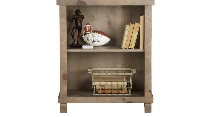 Montana Driftwood (brownish gray)  Jr. Bookcase