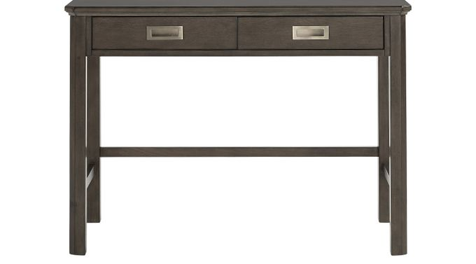 Bay Street Charcoal (dark gray)  Desk