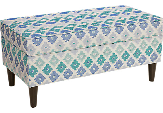 Aviana Marine Storage Bench - Contemporary