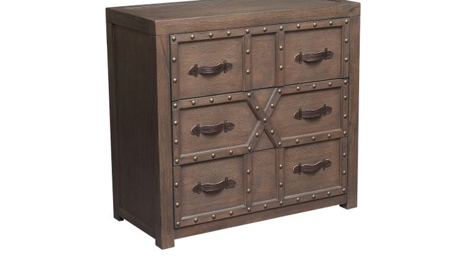 Bodium Brown Accent Cabinet - Rustic
