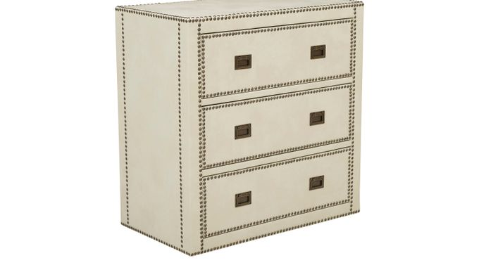 Kisner Cream Accent Cabinet - Contemporary