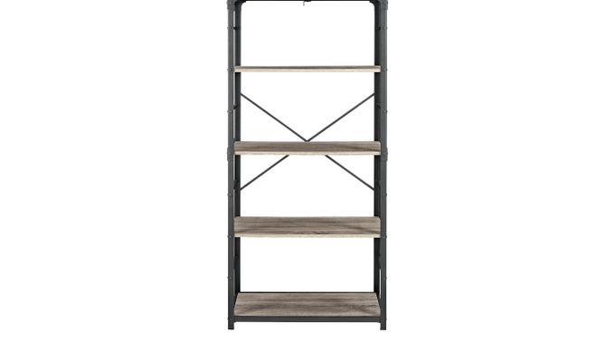 Lorcan Driftwood (brownish gray)  Bookcase