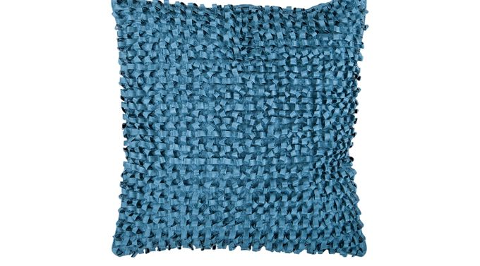Ella Cate Blue Accent Pillow - Contemporary