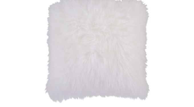 Fantastic Fluff White Accent Pillow - Contemporary