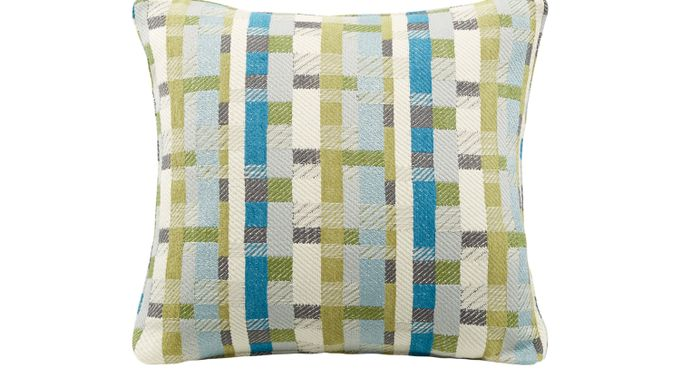 iSofa Basketcase Surf Accent Pillows (Set of 2) 100% Polyester