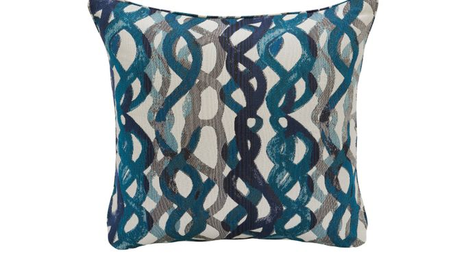 iSofa Basque Turquoise Accent Pillows (Set of 2) 100% Polyester