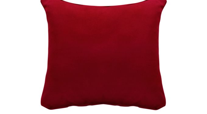 iSofa Cardinal (red)  Accent Pillows (Set of 2) 100% Polyester