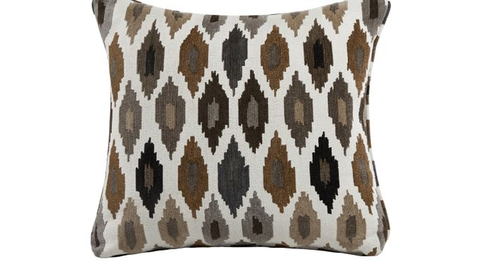 iSofa Snappy Granite (dark gray)  Accent Pillows (Set of 2) 100% Polyester