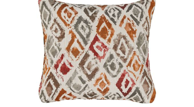 iSofa Tristan Poppy (red)  Accent Pillows (Set of 2) 100% Polyester