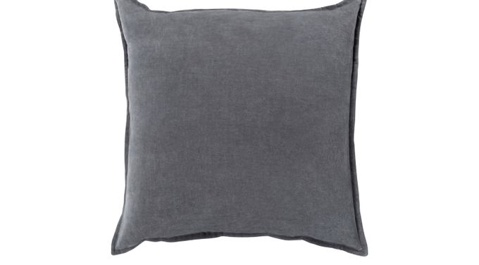 Kaden Charcoal (dark gray)  Accent Pillow - Contemporary
