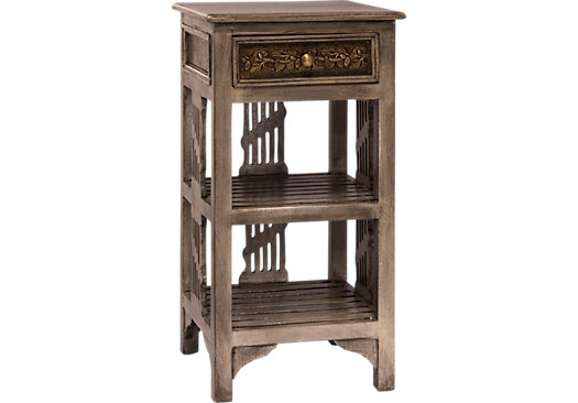 Addis Gray Accent Table
