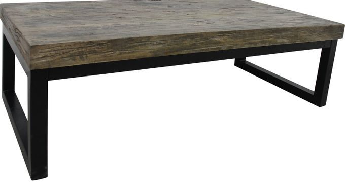Austen Brown Cocktail Table - Rectangle - Transitional