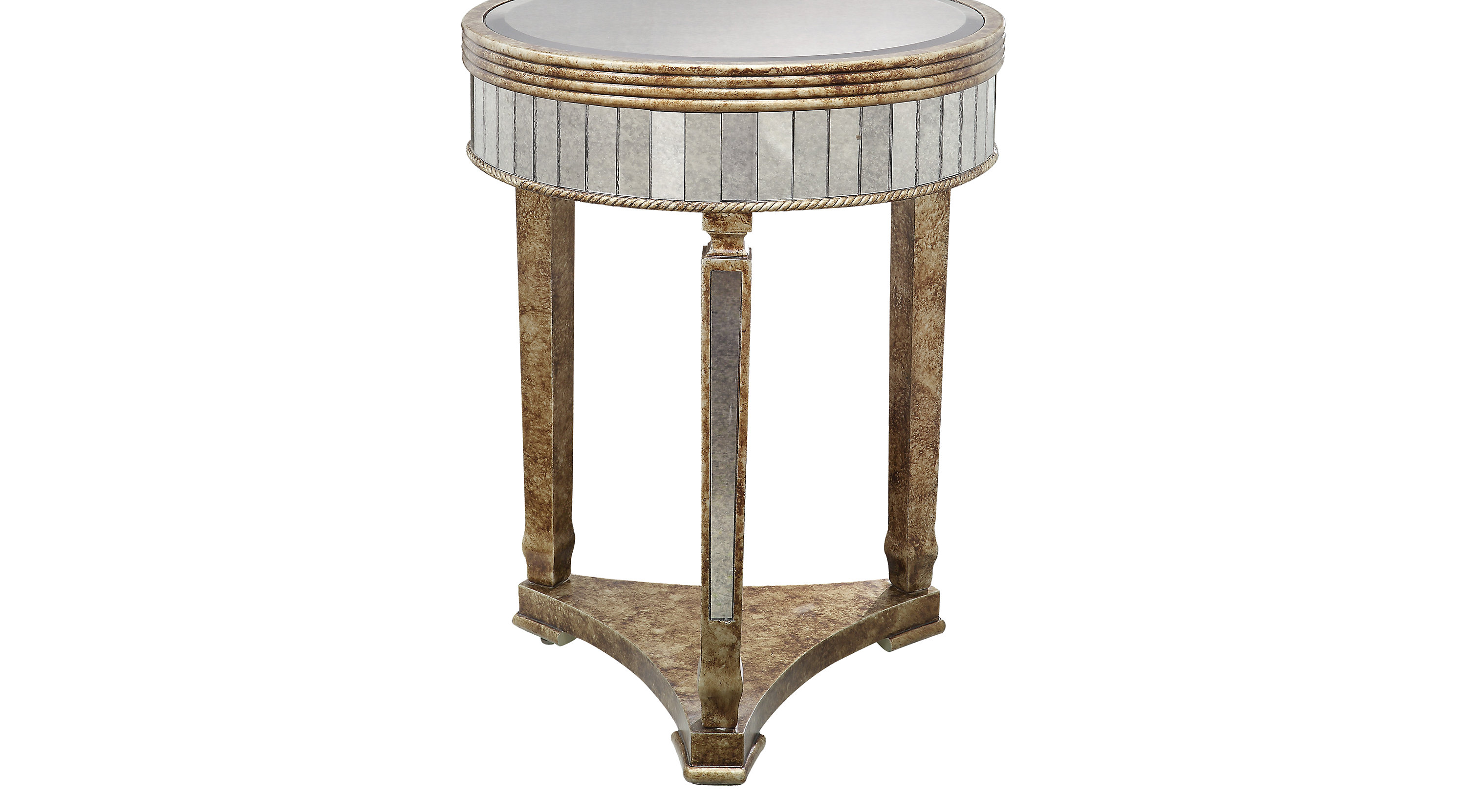 Good Elevonne Gold Accent Table   Contemporary