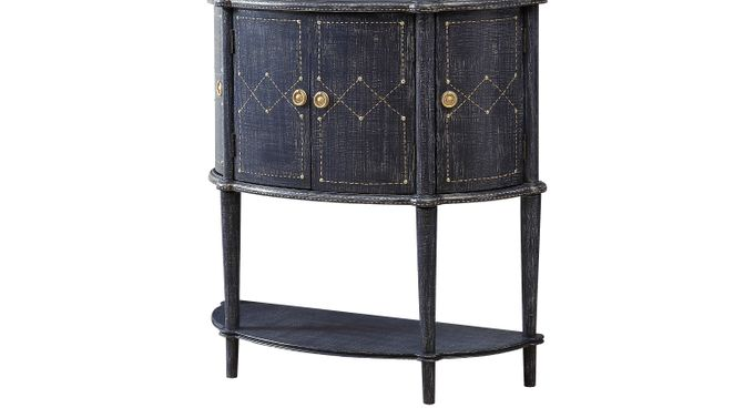 Fritz Sapphire Accent Console - Transitional
