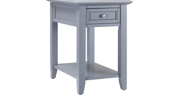 Leda Gray Accent Table - Casual