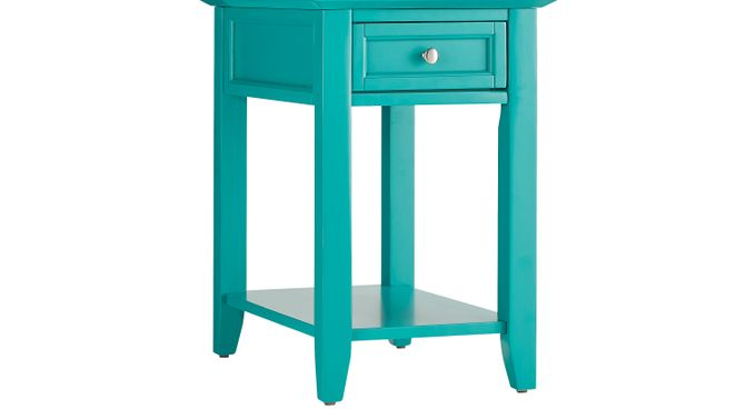 Leda Seafoam Accent Table - Casual