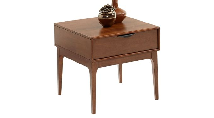 Nelwood Brown Accent Table - Contemporary