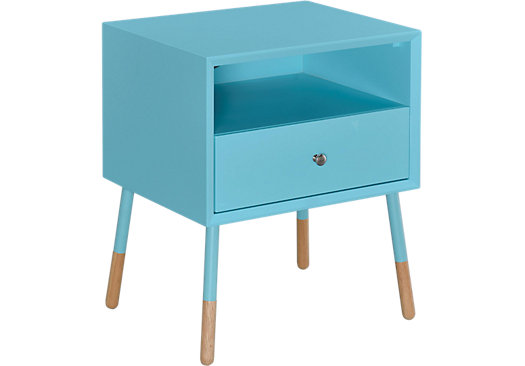 Sonria Blue Accent Table