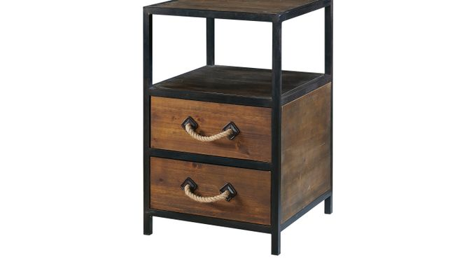 Topanga Brown Accent Table