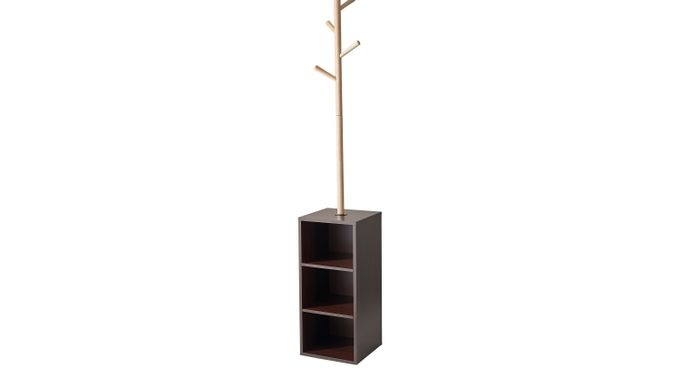 Hathon Walnut (dark brown)  Coat Rack