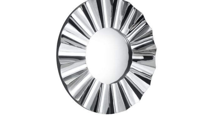 Birnam Silver Mirror - Transitional