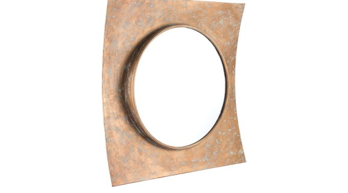 Hamily Gold Mirror - Contemporary