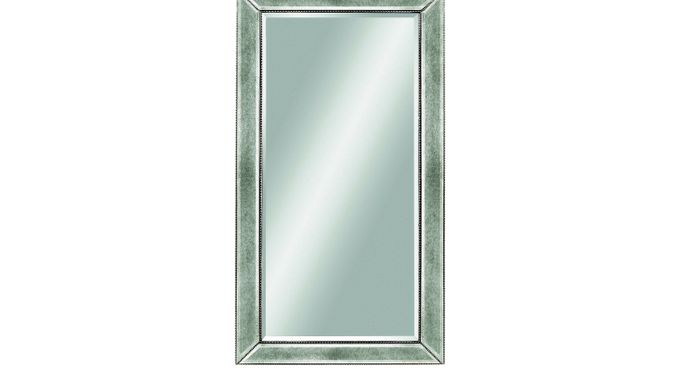 Hollett Silver Mirror - Contemporary