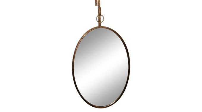 Kimberlynn Gold Mirror - Contemporary