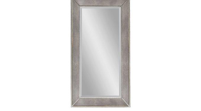 Mountrose Gray Large  Mirror - Contemporary