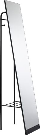 Toftree Black Leaner Mirror - Contemporary