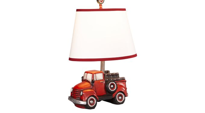Lil' Red Truck Lamp - Table