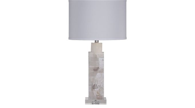 Lineboro White Lamp - Table