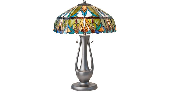 Tiersdale Tiffany Style Lamp - Table - Traditional