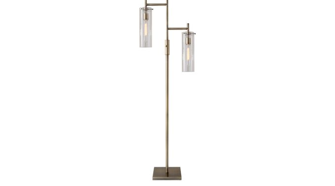 Farnam Brass Floor Lamp