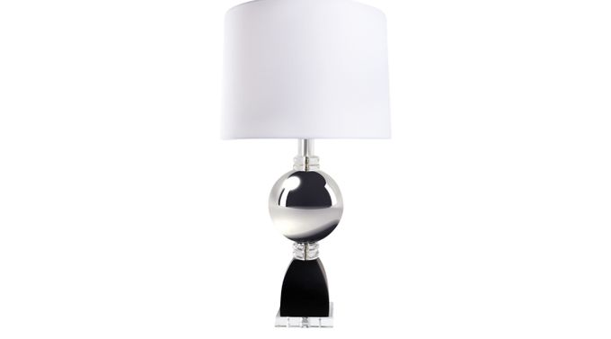 Roppolo Chrome Table Lamp - Contemporary