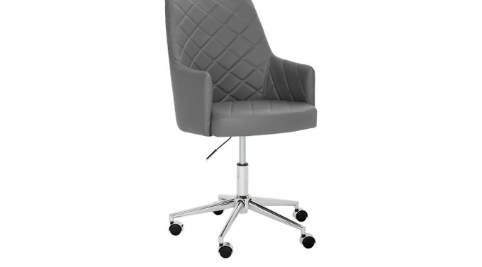 Chase Place Graphite (black)  Desk Chair - Transitional