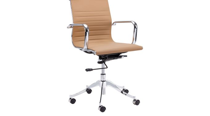 Tyler Place Tan Desk Chair - Contemporary