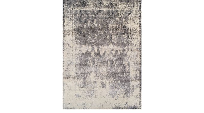 Adler Cove Gray 3'3 x 5'1 Rug