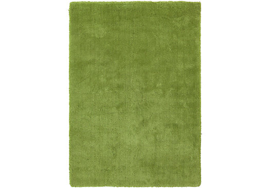 Ambrosia Fern Green 3' x 5' Rug - Contemporary, Polyester