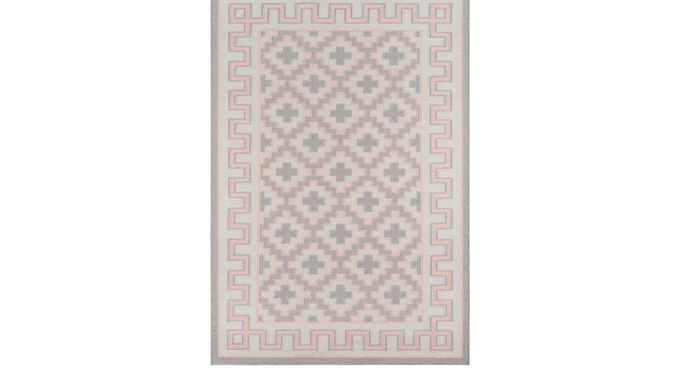 Druid Central Pink 2'3 x 8' Runner Rug