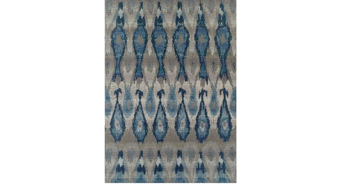 Elsmere Blue 5'1 x 7' Indoor/Outdoor Rug