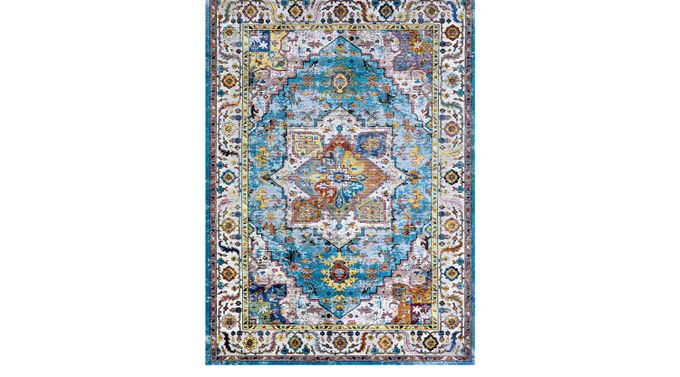 Gypsy Cove Blue 3'6 x 5'6 Rug