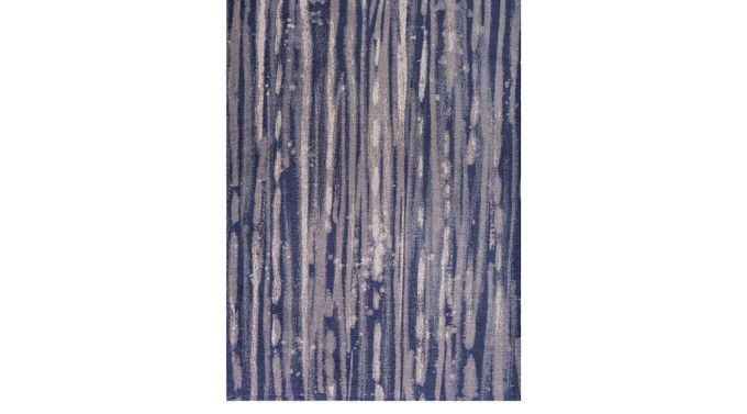 Katyin Blue 5' x 7' Rug - Contemporary