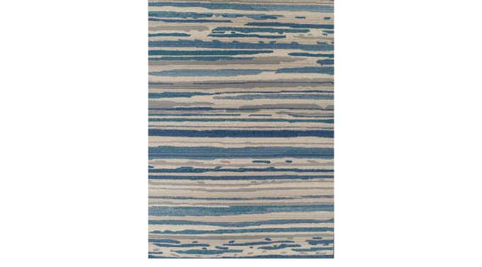Patenson Blue 5'1 x 7' Indoor/Outdoor Rug