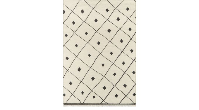 Rosery Breeze Ivory (off-white)  3'6 x 5'6 Rug