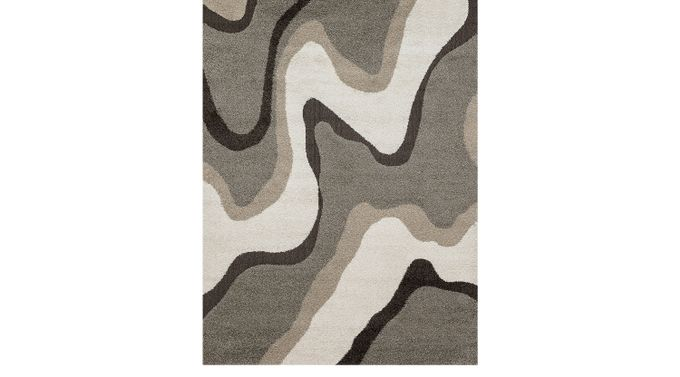Tetsu Gray 5'3 x 7'7 Rug - Contemporary