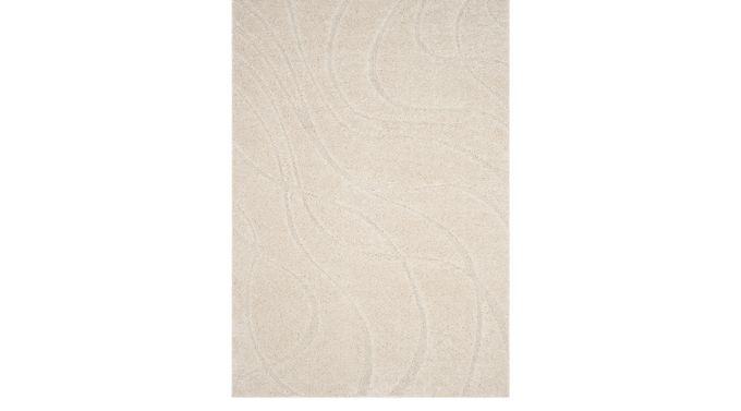 Todaro Cream 5'3 x 7'6 Rug
