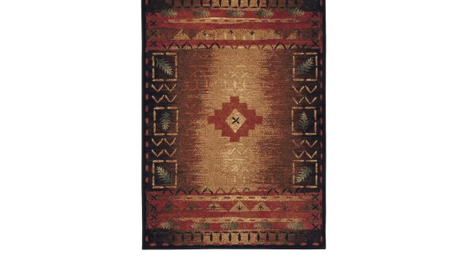 Tribal Place 3' x 5' Rug - Casual, Synthetic