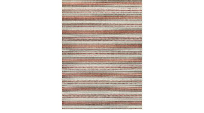Zentro Coral (pink)  5'10 x 9'2 Indoor/Outdoor Rug