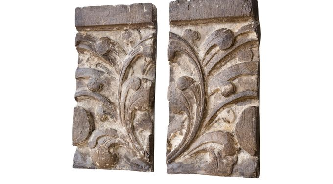 Brocksville Brown Set of 2 Wall Decor - Rustic
